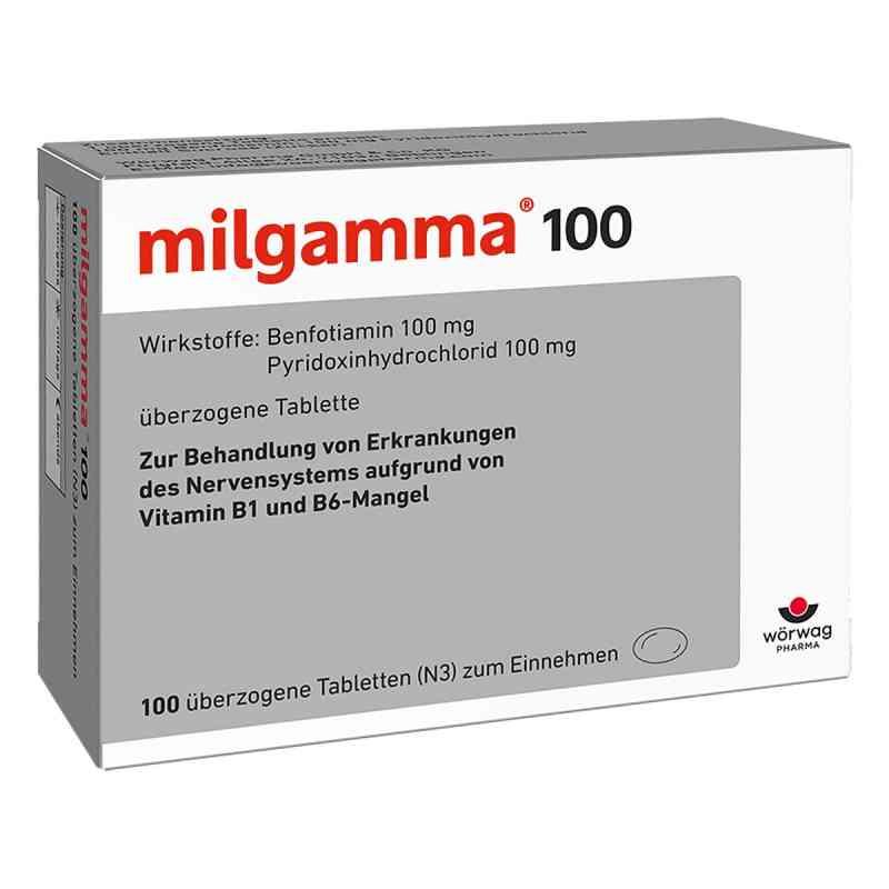 Milgamma 100 mg überzogene Tabletten  bei apo-discounter.de bestellen