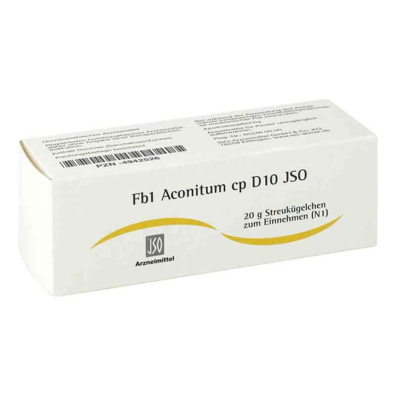 Jso Jkh Fiebermittel Fb 1 Aconitum cp D10 Globuli  bei apo-discounter.de bestellen