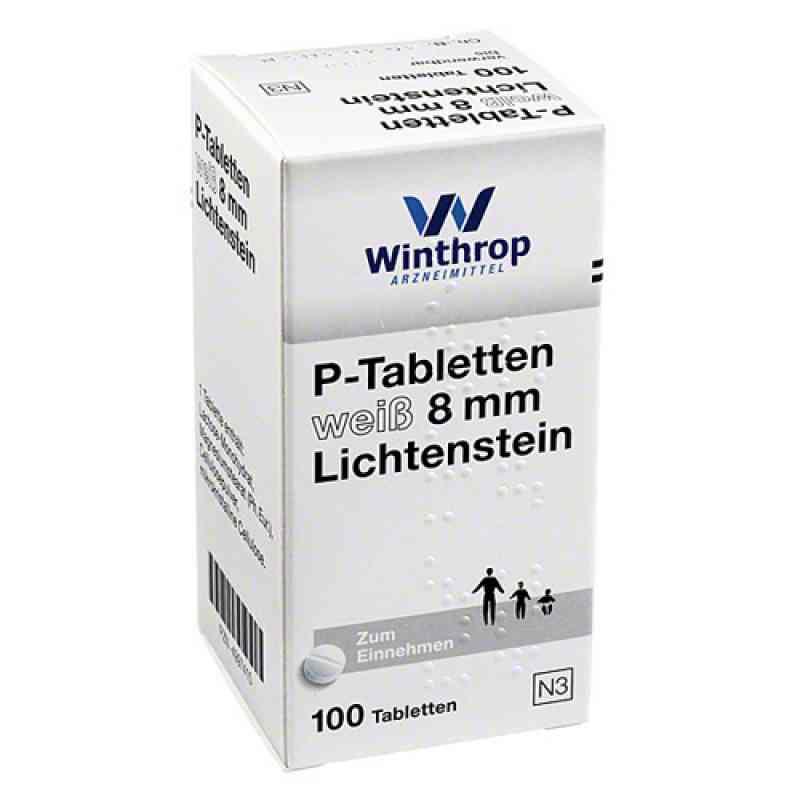 P Tabletten weiss 8 mm  bei apo-discounter.de bestellen