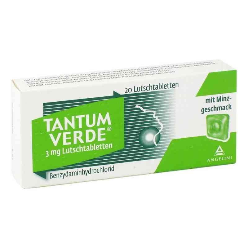Tantum Verde 3 mg Lutschtabletten  bei apo-discounter.de bestellen