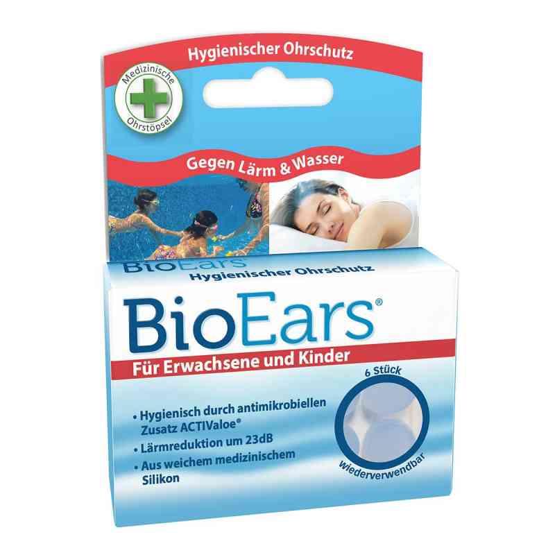 Bioears Silikon Ohrstöpsel antimikrobielle  bei apo-discounter.de bestellen