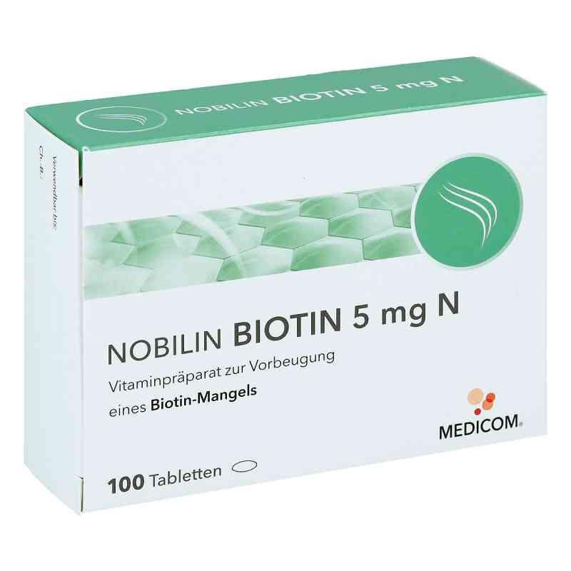 Nobilin Biotin 5 mg N Tabletten  bei apo-discounter.de bestellen
