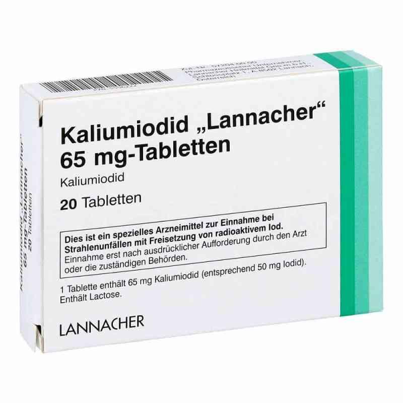 Kaliumiodid Lannacher 65 mg Tabletten  bei apo-discounter.de bestellen