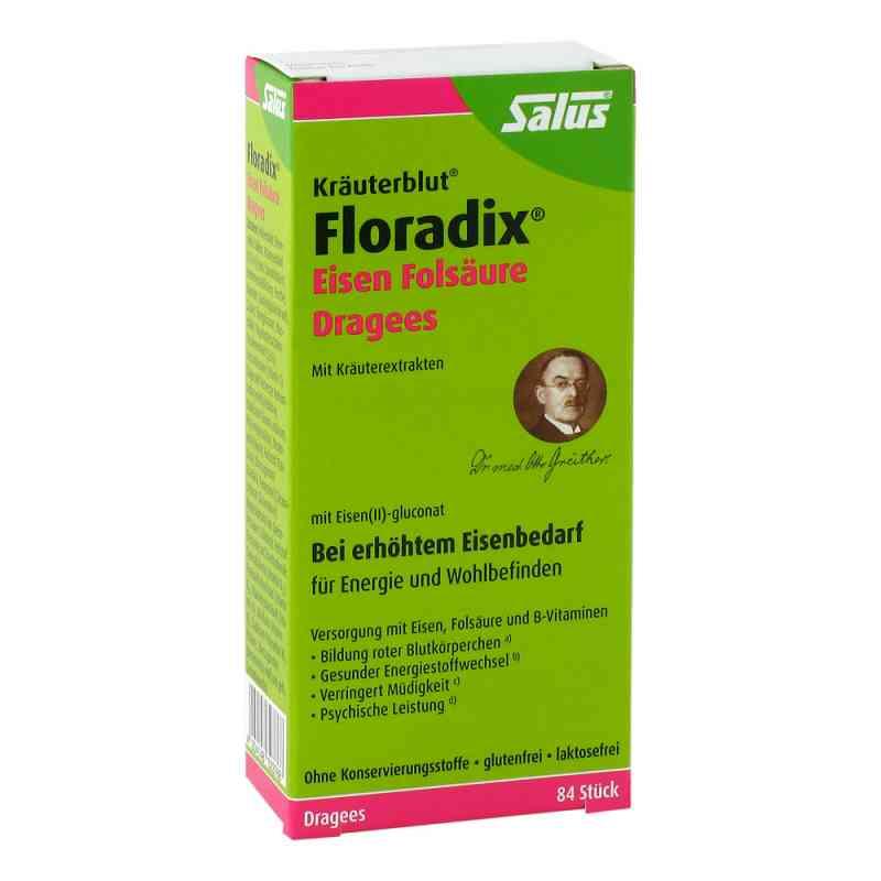Floradix Eisen Folsäure Dragees  bei apo-discounter.de bestellen
