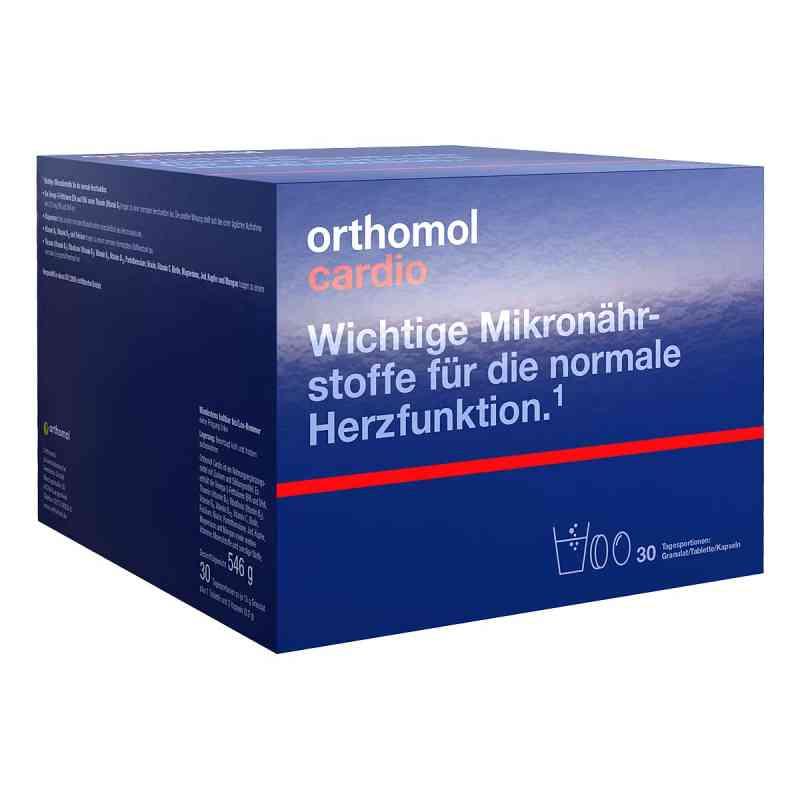 Orthomol Cardio Granulat + Kapseln 30 Kombipackung  bei apo-discounter.de bestellen