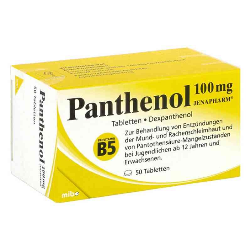 Panthenol 100 Mg Jenapharm Tabletten 50 Stk