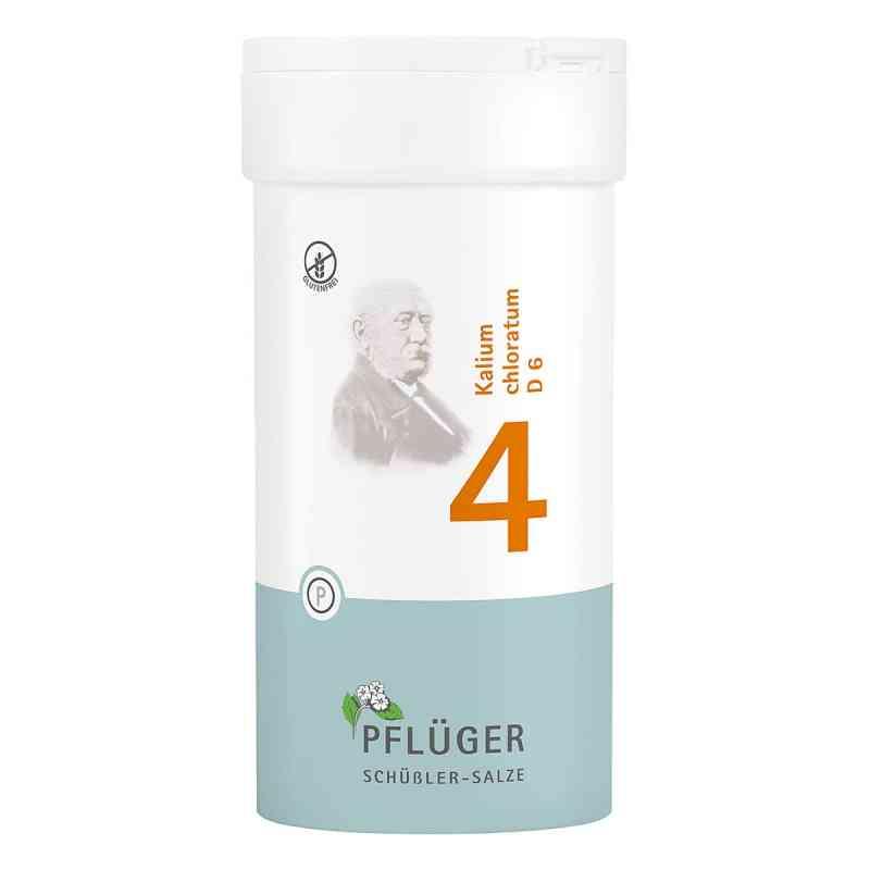 Biochemie Pflüger 4 Kalium chloratum D6 Tabletten  bei apo-discounter.de bestellen