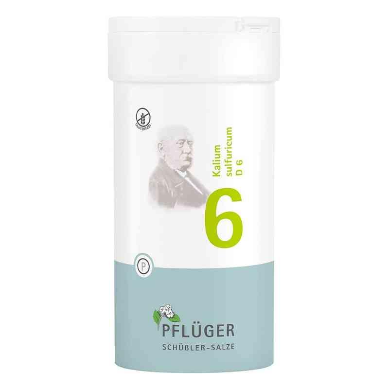 Biochemie Pflüger 6 Kalium Sulfur D6 Tabletten  bei apo-discounter.de bestellen