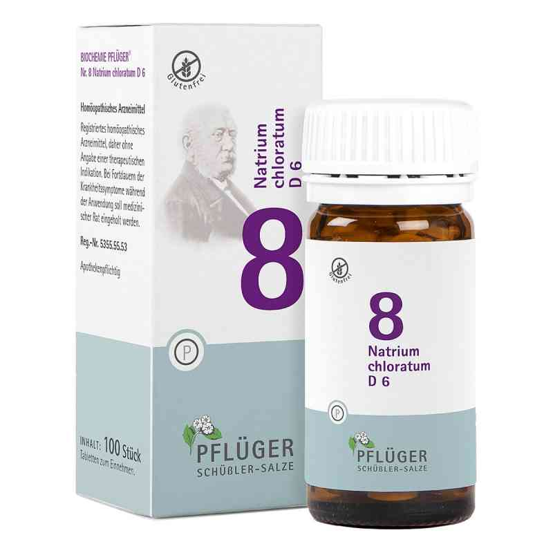 Biochemie Pflüger 8 Natrium chloratum D6 Tabletten  bei apo-discounter.de bestellen