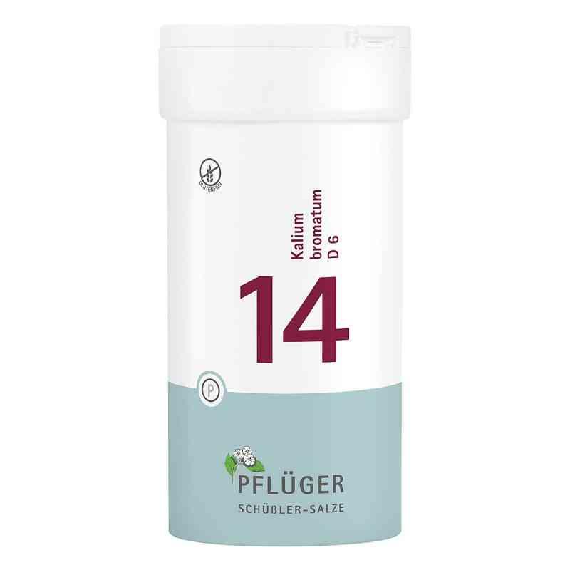 Biochemie Pflüger 14 Kalium bromat.D 6 Tabletten  bei apo-discounter.de bestellen