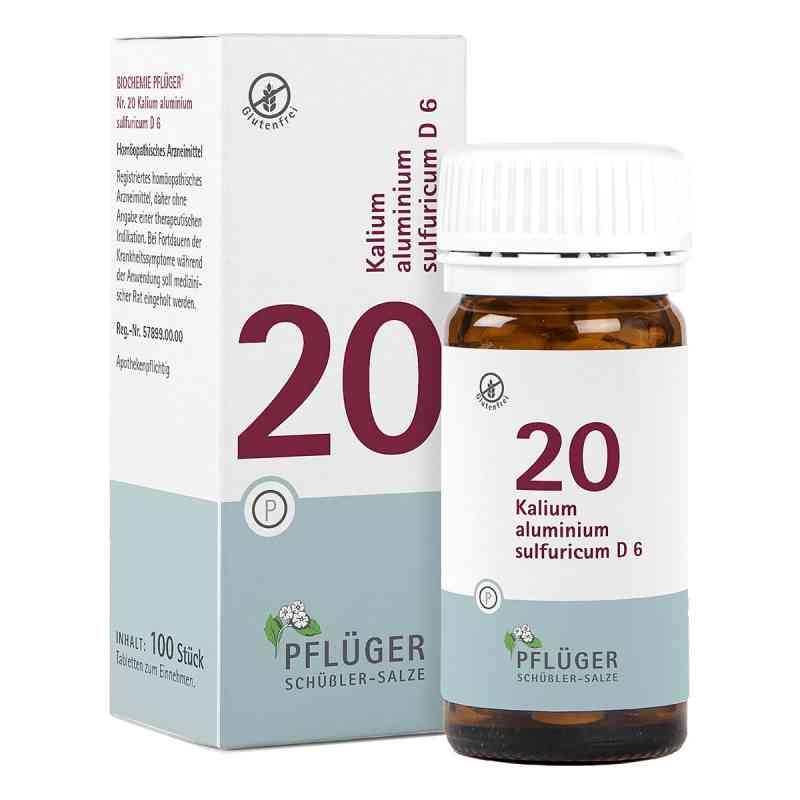 Biochemie Pflüger 20 Kalium alum.sulf.D 6 Tabletten  bei apo-discounter.de bestellen