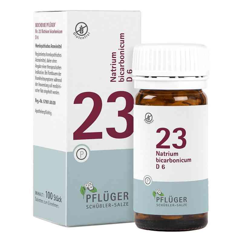 Biochemie Pflüger 23 Natrium bicarbon.D 6 Tabletten  bei apo-discounter.de bestellen