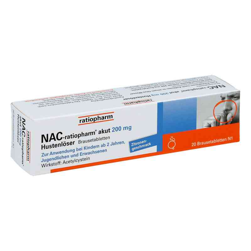 NAC-ratiopharm akut 200mg Hustenlöser  bei apo-discounter.de bestellen