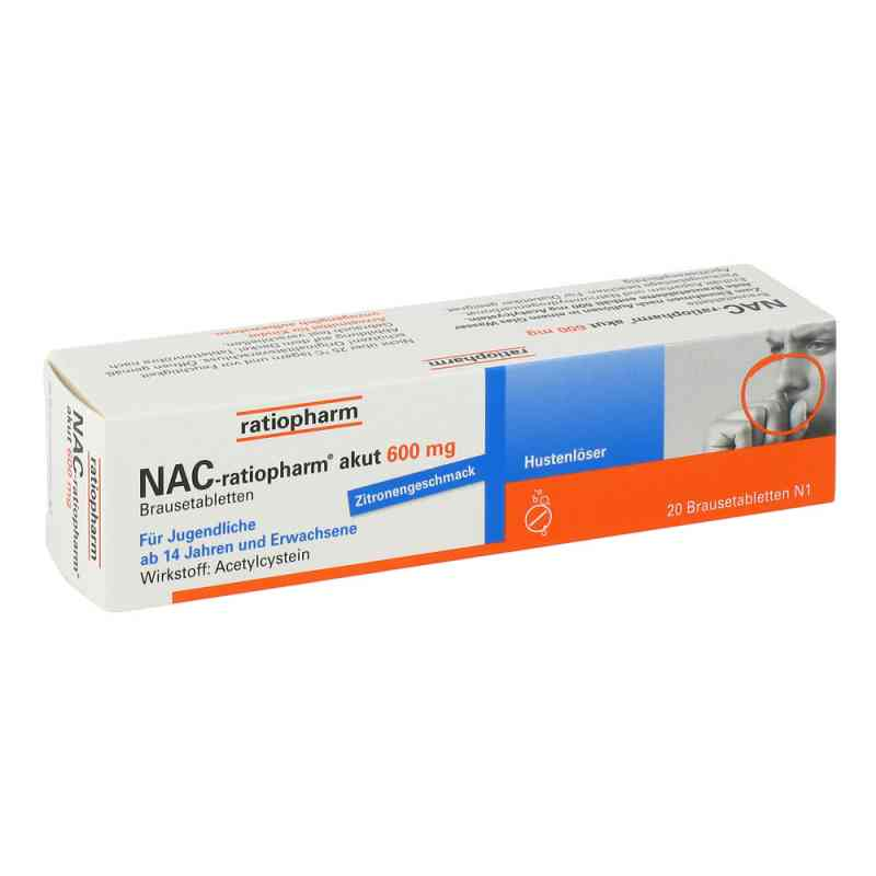 NAC-ratiopharm akut 600mg Hustenlöser  bei apo-discounter.de bestellen