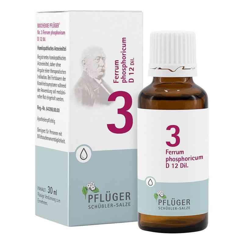 Biochemie Pflüger 3 Ferrum phosphoricum D12 Tropfen  bei apo-discounter.de bestellen