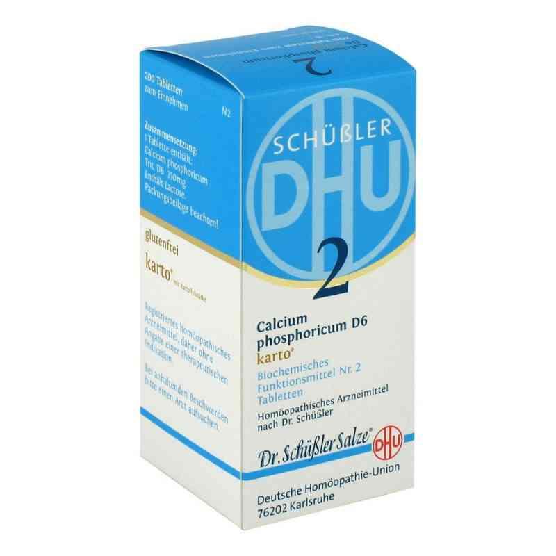 Biochemie Dhu 2 Calcium phosphorus D  6 Karto Tabletten   bei apo-discounter.de bestellen