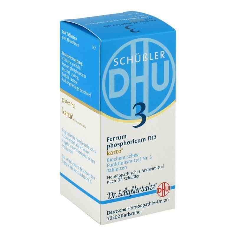 Biochemie Dhu 3 Ferrum phosphorus D  12 Karto Tabletten   bei apo-discounter.de bestellen