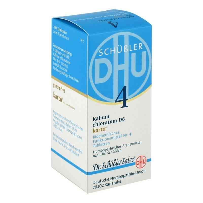 Biochemie Dhu 4 Kalium chlorat. D 6 Karto Tabletten   bei apo-discounter.de bestellen