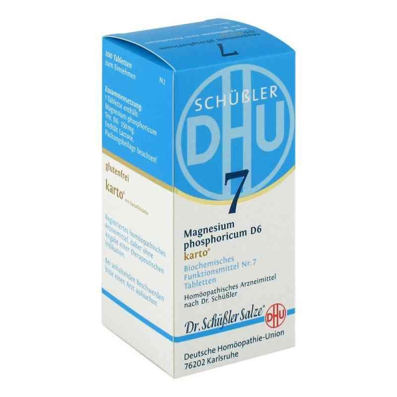 Biochemie Dhu 7 Magnesium phosphoricum D  6 Karto Tabletten  bei apo-discounter.de bestellen