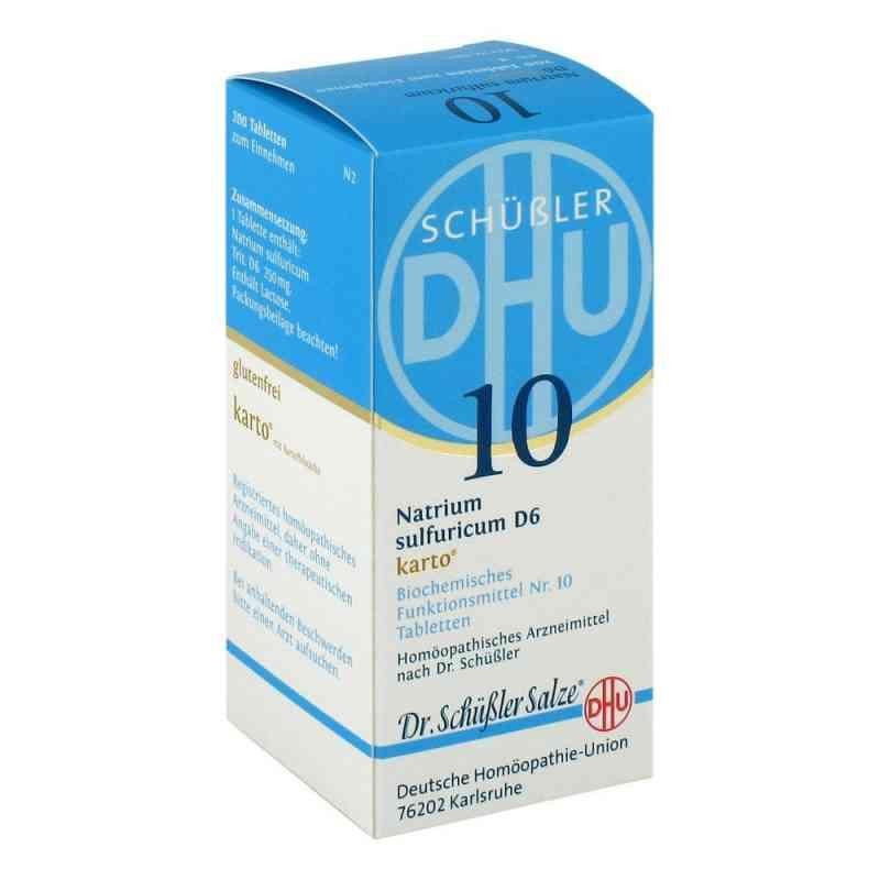 Biochemie Dhu 10 Natrium Sulfur D6 Karto Tabletten  bei apo-discounter.de bestellen