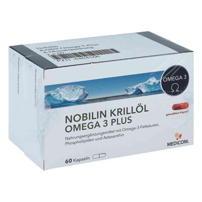 Nobilin Krillöl Omega 3 Plus Kapseln  bei apo-discounter.de bestellen
