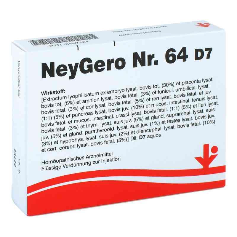 Neygero Nummer 6 4 D7 Ampullen  bei apo-discounter.de bestellen