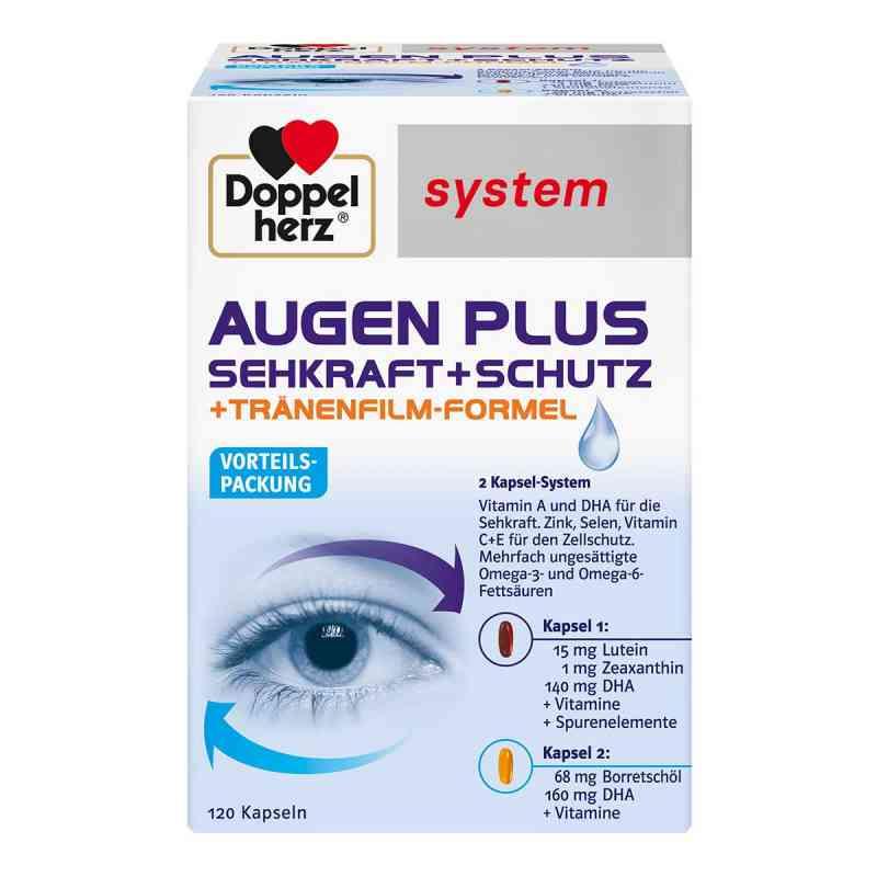 Doppelherz Augen plus Sehkraft+Schutz System Kapsel (n)  bei apo-discounter.de bestellen