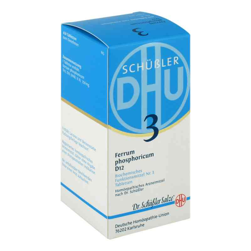 Biochemie Dhu 3 Ferrum phosphorus D  12 Tabletten  bei apo-discounter.de bestellen