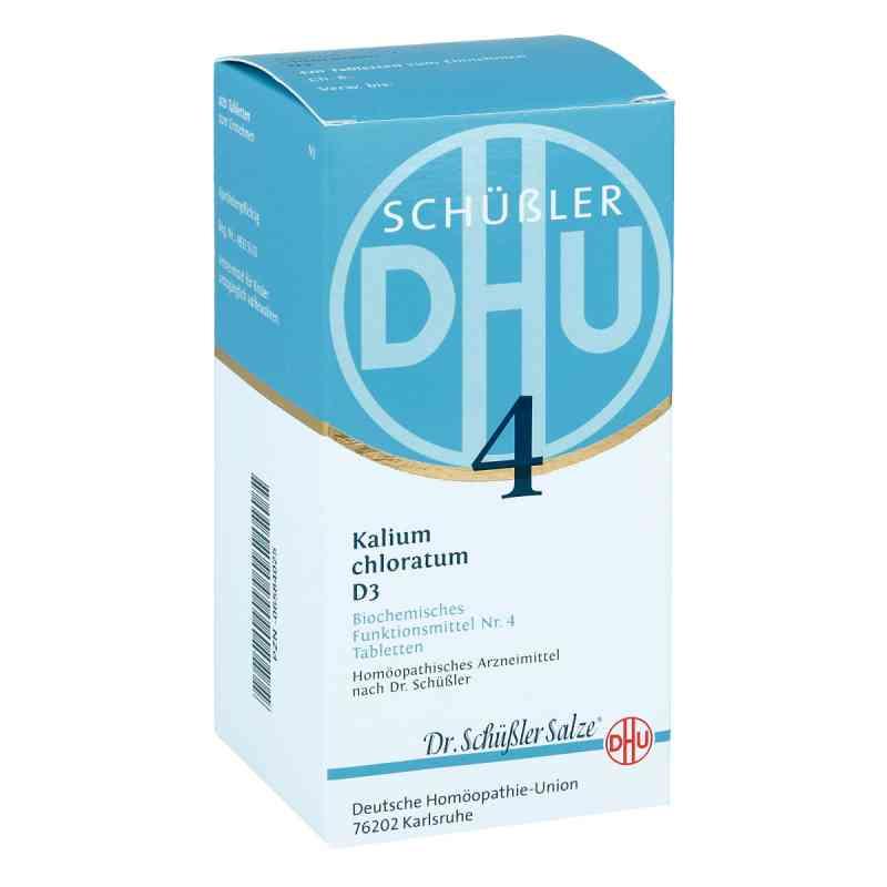 Biochemie Dhu 4 Kalium chlorat. D3 Tabletten  bei apo-discounter.de bestellen