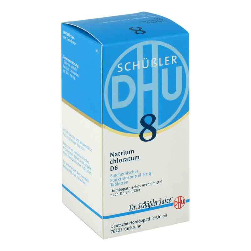 Biochemie Dhu 8 Natrium chlor. D 6 Tabletten  bei apo-discounter.de bestellen