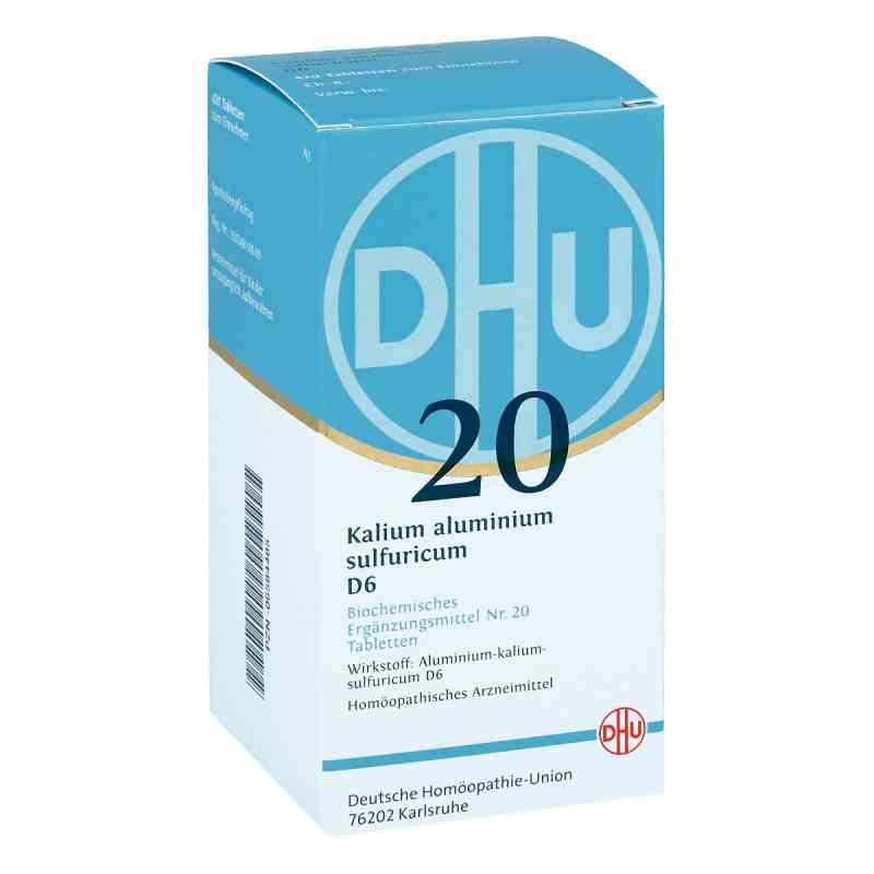 Biochemie Dhu 20 Kalium alum.sulfur. D6 Tabletten  bei apo-discounter.de bestellen