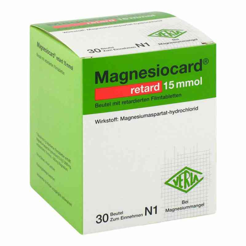 Magnesiocard retard 15 mmol Beutel mit ret.Filmtabl.  bei apo-discounter.de bestellen