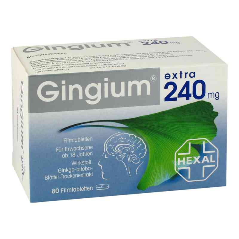 Gingium extra 240mg bei apo-discounter.de bestellen