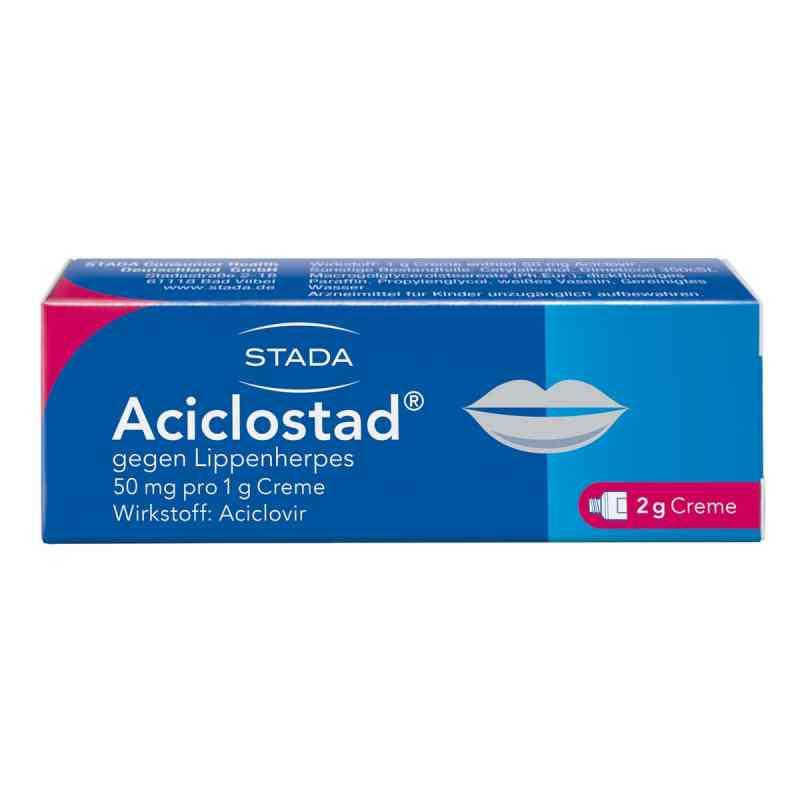 Aciclostad gegen Lippenherpes 50mg pro 1g  bei apo-discounter.de bestellen