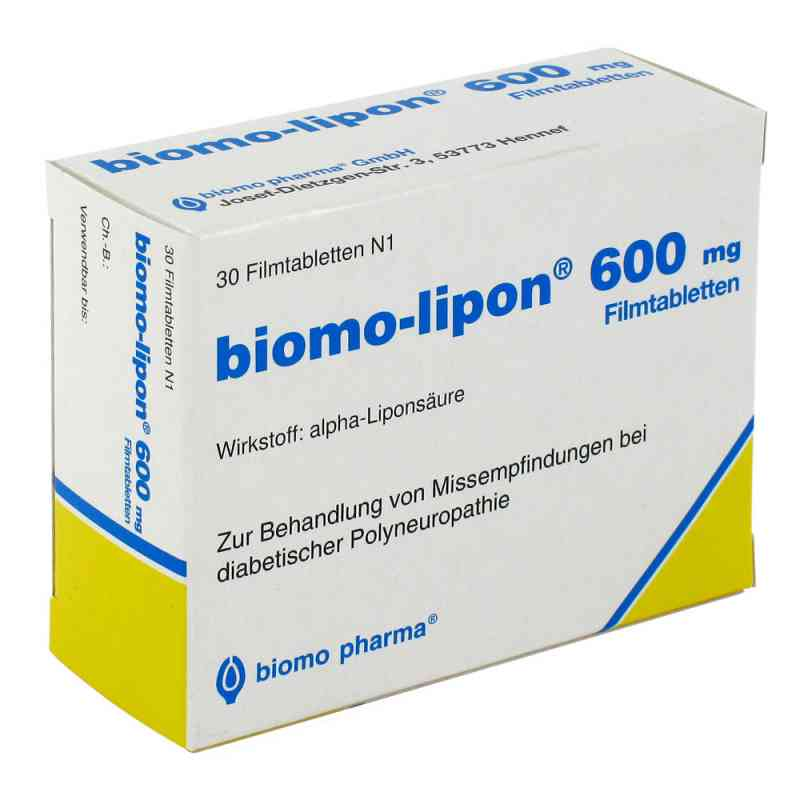 Biomo-Lipon 600  bei apo-discounter.de bestellen