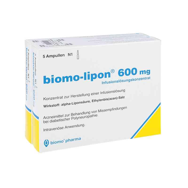 Biomo Lipon 600 mg Ampullen  bei apo-discounter.de bestellen