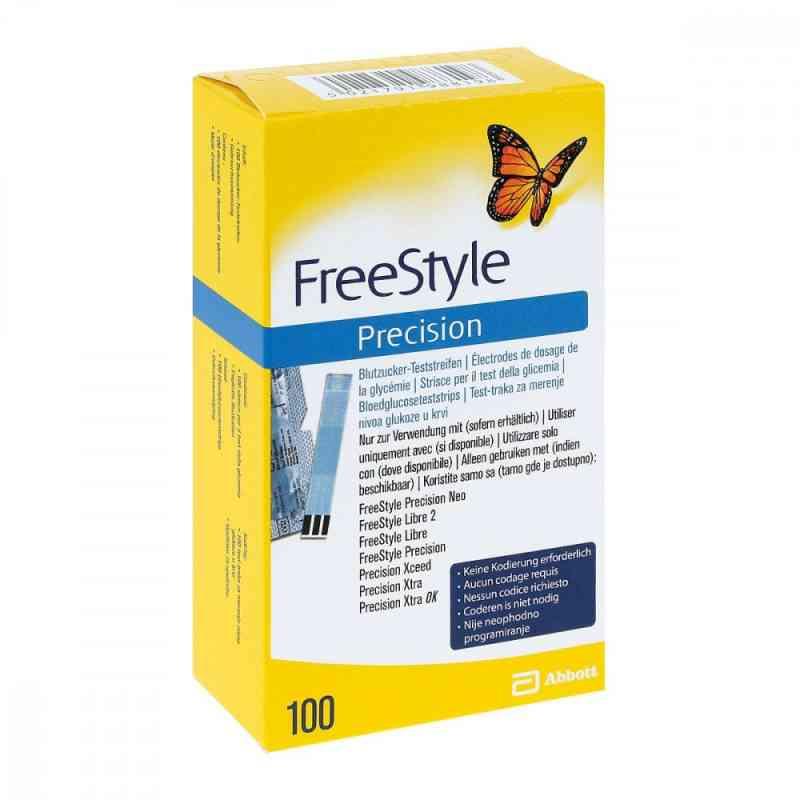 Freestyle Precision Blutzucker Teststr.o.codier.  bei apo-discounter.de bestellen