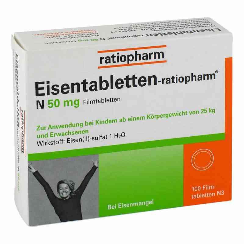 Eisentabletten-ratiopharm N 50mg  bei apo-discounter.de bestellen