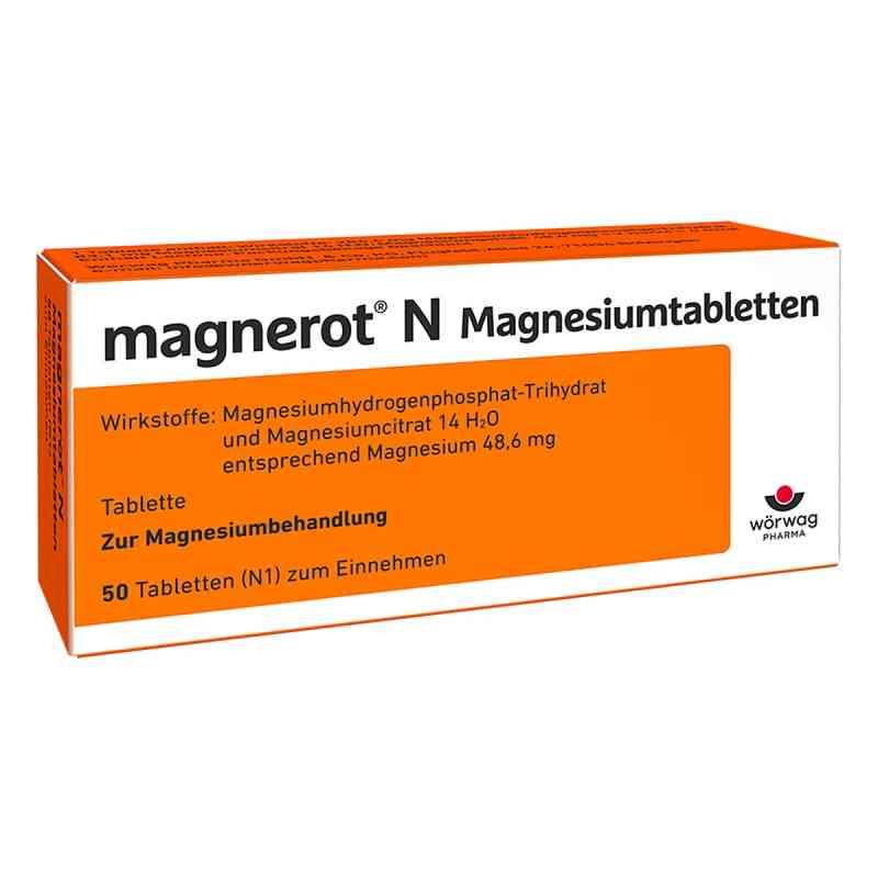 Magnerot N Magnesiumtabletten  bei apo-discounter.de bestellen