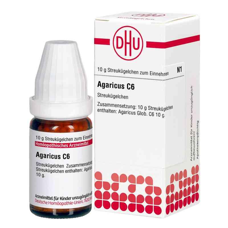 Agaricus C 6 Globuli  bei apo-discounter.de bestellen