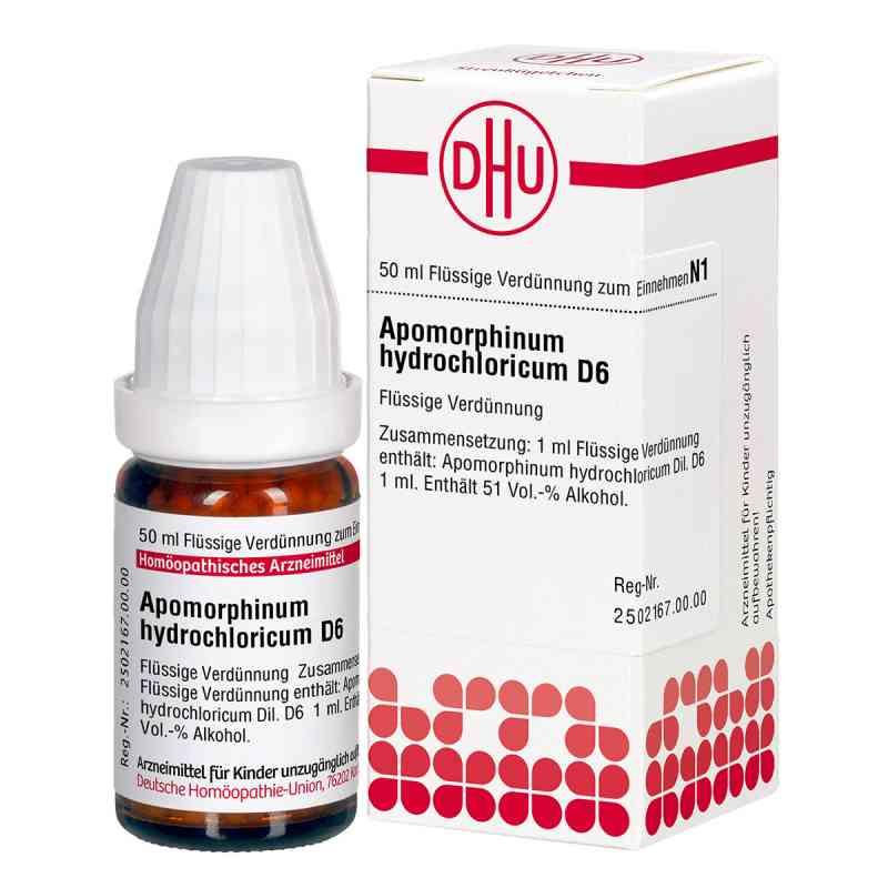 Apomorphinum Hydrochloric. D6 Dilution  bei apo-discounter.de bestellen