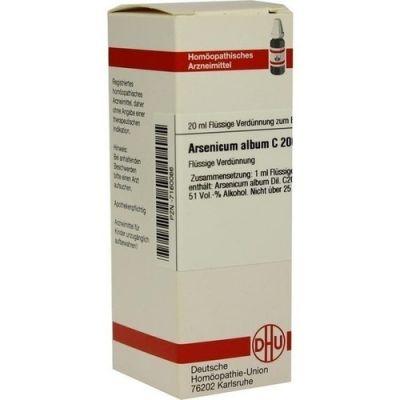 Arsenicum Album C200 Dilution  bei apo-discounter.de bestellen
