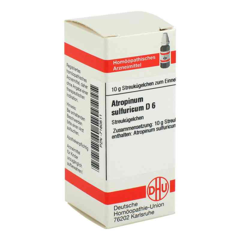 Atropinum Sulfuricum D 6 Globuli  bei apo-discounter.de bestellen