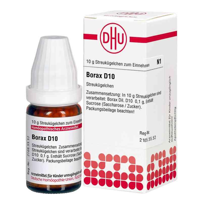 Borax D 10 Globuli  bei apo-discounter.de bestellen