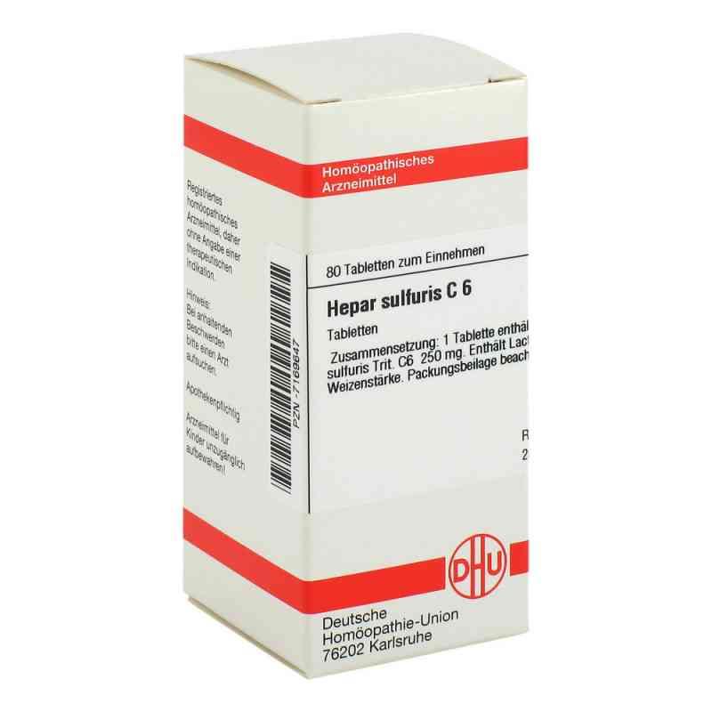 Hepar Sulfuris C6 Tabletten  bei apo-discounter.de bestellen