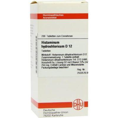 Histaminum Hydrochloricum D12 Tabletten  bei apo-discounter.de bestellen
