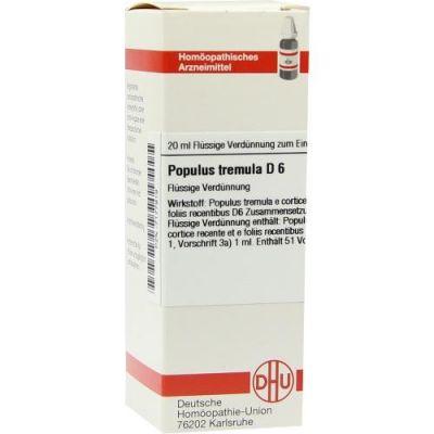 Populus Tremula D6 Dilution  bei apo-discounter.de bestellen