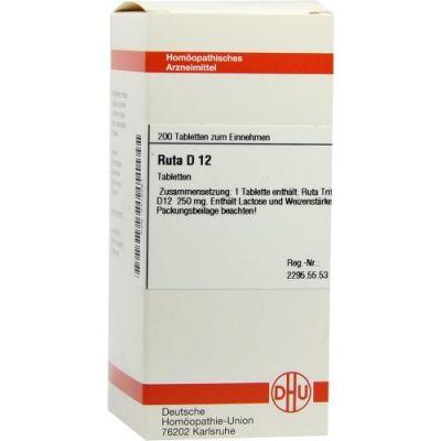 Ruta D12 Tabletten  bei apo-discounter.de bestellen