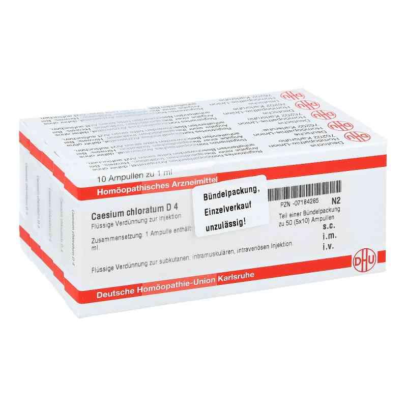 Caesium Chloratum D4 Ampullen  bei apo-discounter.de bestellen