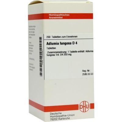 Adlumia Fungosa D4 Tabletten  bei apo-discounter.de bestellen